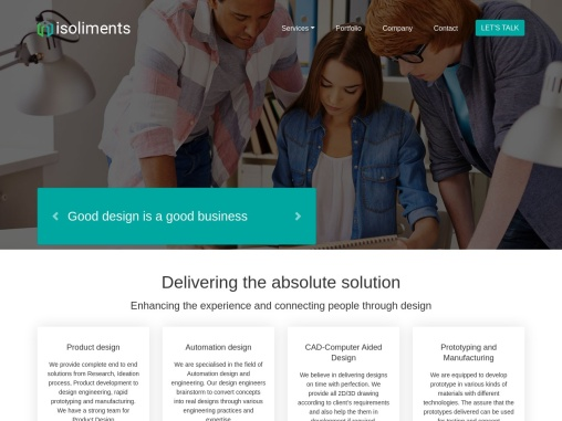 Isoliments : Product Design Company | Prototyping and Manufacturing  Services