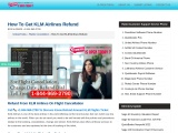 How To Get A Refund From Klm Airlines Refund