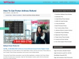 How To Get Porter Airlines Refund Online