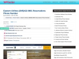 Eastern Airlines Flights Ticket Booking