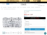 TRIPLE ROW MARQUISE & ROUND & OVAL STACKABLE BAND SET