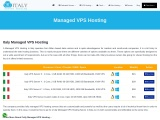 Affordable Italy Managed VPS Hosting