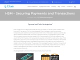 HSM – Securing Payments and Transactions