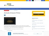 Activate Amazon Prime   How to Activate Prime Video on TV