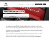 Litigation And Dispute Resolution – Arnotts Technology Lawyers