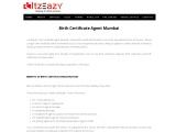 Birth Certificate Agent Mumbai