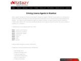 Driving License Agent Mumbai | Itzeazy