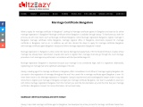Marriage Certificate Bangalore
