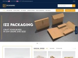 IZZ Packaging offers high-quality custom boxes to grow your business at a high pace