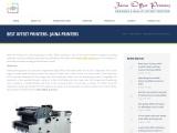 Best Offset Printers- Jaina Printers