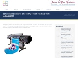 Digital Offset Printing Services in India