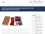 DIARY PRINTING SERVICES IN INDIA