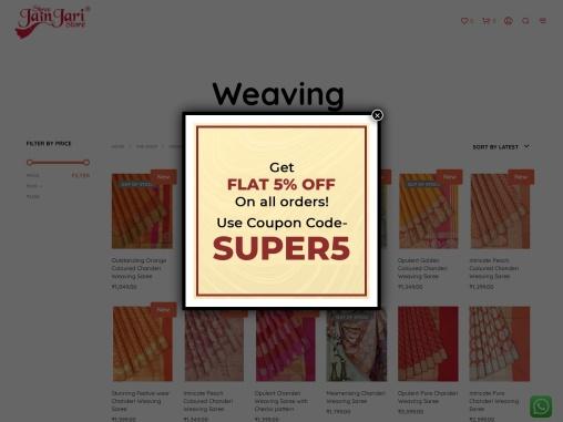 Saree Shop in Kolkata   Buy Wedding Sarees – Shree Jain Jari Store
