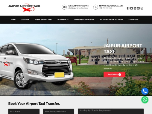 Jaipur Airport Taxi |  Hire Airport Taxi in Jaipur | Cab in Jaipur Airport | Call Now