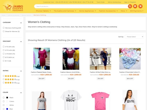 Shop Latest Fashion Dresses For Women Online At Best Price In Kenya
