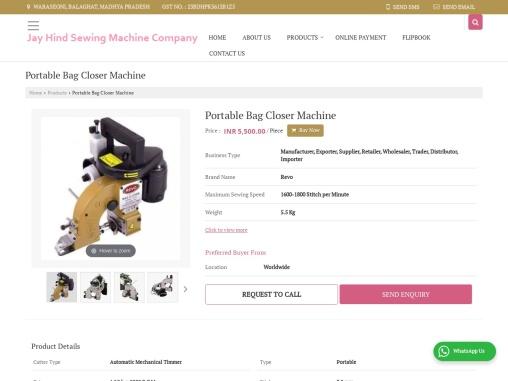 Portable Bag Closer Machine Suppliers