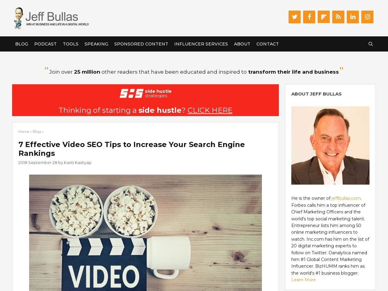 7 Effective Video SEO Tips to Increase Your Search Engine
