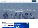 Kotlin vs Flutter: Which Is Best For Cross-platform App Development?