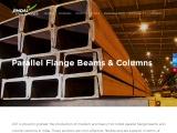 Parallel flange beam – Jindal Steel Power