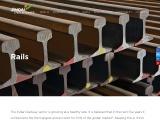Rolled track rails  – Jindal Steel Power