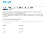 Atos Syntel Off Campus Drive for 2020 Batch: Syntellect 2020