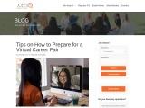 Tips on How to Prepare for a Virtual Career Fair