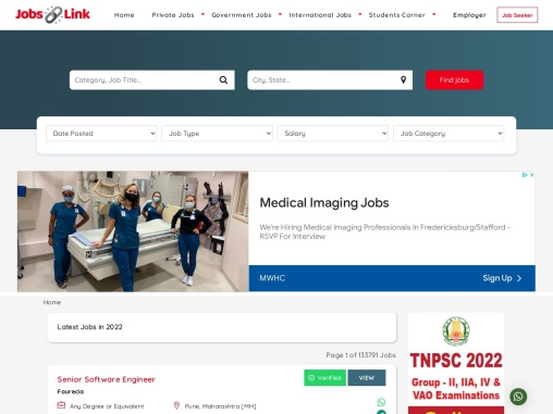 what is Latest Jobs – Jobslink.in