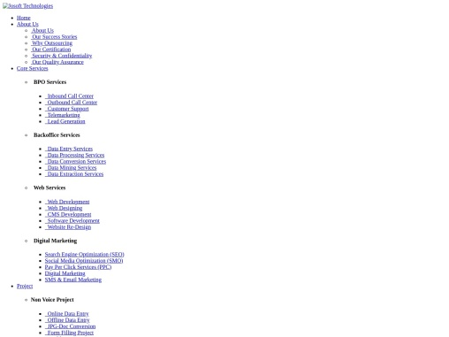 Offline BPO and Data Entry Projects for Business
