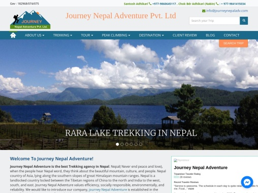 Best Trekking and Travel company in Nepal