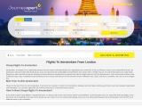 Cheap Flights to amsterdam & Bespoke Flight Deals from London