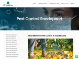Pest Control in Roodepoort at jtsolution.co.za