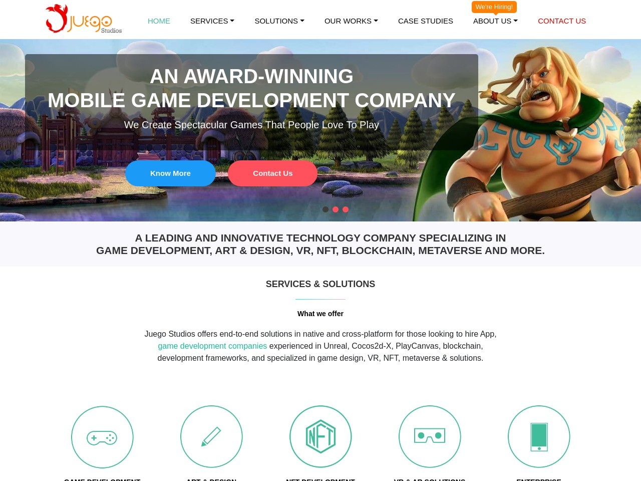 HTML5 Game Development Company | HTML5 Game Developers