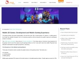 Mobile 3D Games: Development and Mobile Gaming Experience – Blog