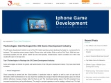 Technologies that Reshaped the iOS Game Development Industry – Blog