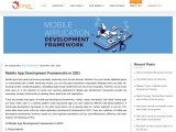 What are The Top 10 Mobile App Development Frameworks in 2021?