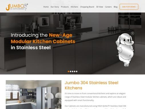 Jumbo stainless steel kitchens