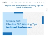 6 Quick and Effective SEO Winning Tips for Small Businesses