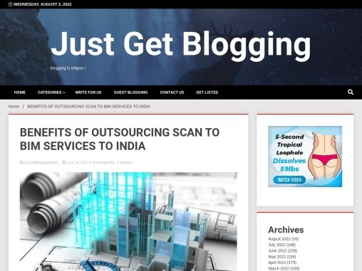 BENEFITS OF OUTSOURCING SCAN TO BIM SERVICES TO INDIA