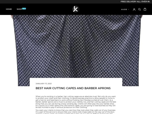 BEST HAIR CUTTING CAPES AND BARBER APRONS