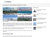 Top Cities for Real Estate Investment in India