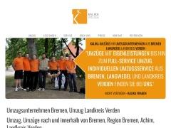 Umzugsunternehmen Bremen | KaliKa Umzüge GbR