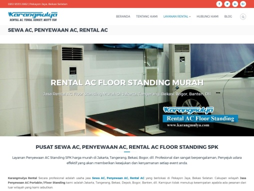 Rental AC / Sewa AC Portable Atau Floor Standing Air Conditioner