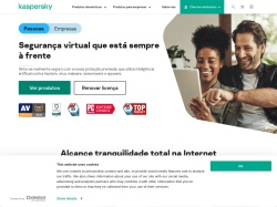 Kaspersky Lab Brazil screenshot
