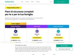 Kaspersky Italy screenshot