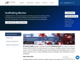 Scaffolding Market to showcase appreciable revenue growth over 2020-2025, driven by favourable marke