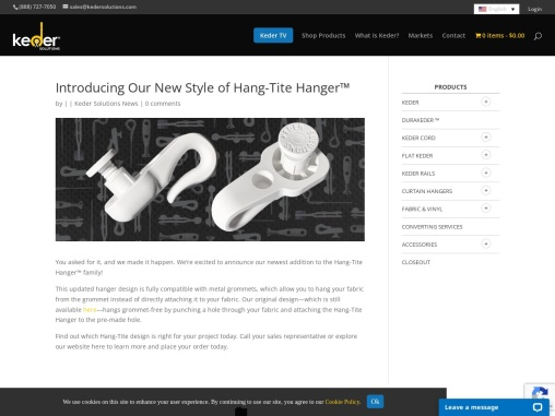 Introducing Our New Style of Hang-Tite Hanger™