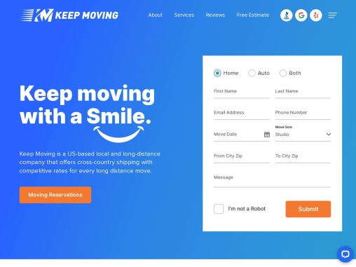 Keep Moving Services Company, Express Delivery Movers, Local, International Moving Solutions