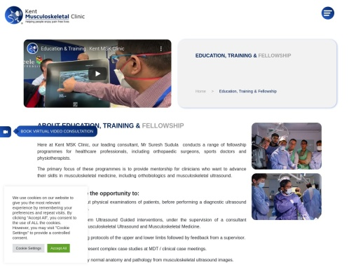Ultrasound guided Injection in Basildon – Kent MSK