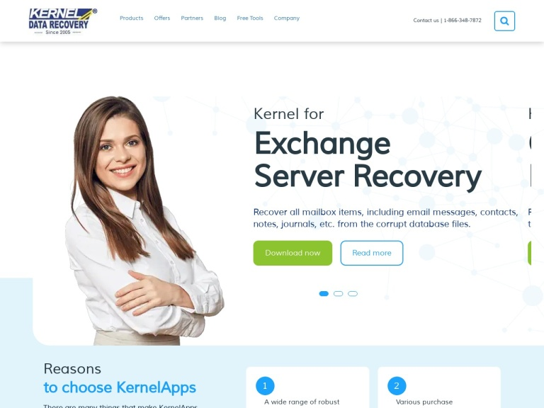 Kernel Data Recovery Coupon Code screenshot