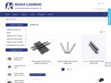 Carbide Rod, Carbide Rods with One Straight Hole Suppliers